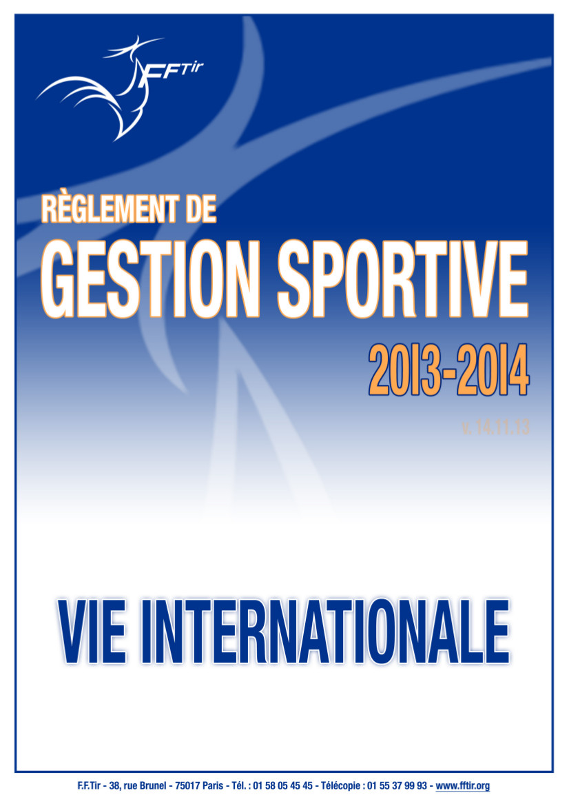 RGS internationale 2013-2014
